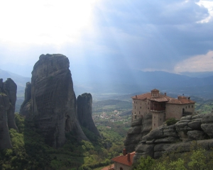 The Meteora, Kalambaka, Greece